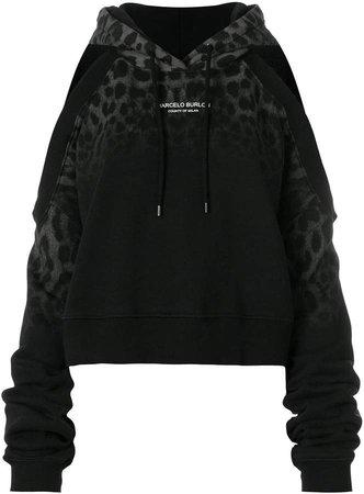 Leopard hoodie