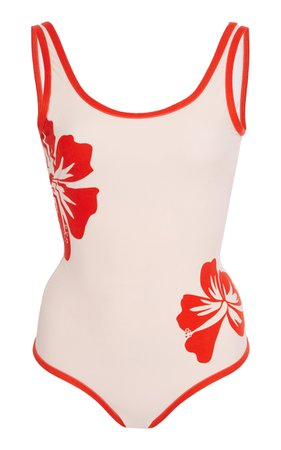 Onia Kelly Floral-Print One-Piece Swimsuit