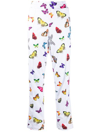 Palm Angels Butterfly Print Track Pants