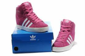 wedge sneakers adidas pink - Google Search