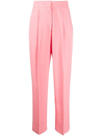 MSGM high-waisted Straight Trousers - Farfetch