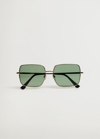 Squared frame sunglasses - Women | Mango USA