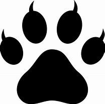 Panther Paw Print Clip Art - Bing images