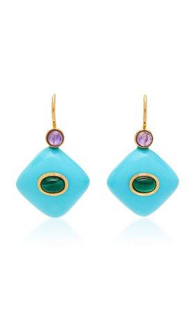 Earrings Wire & Stone by Grazia & Marica Vozza | Moda Operandi