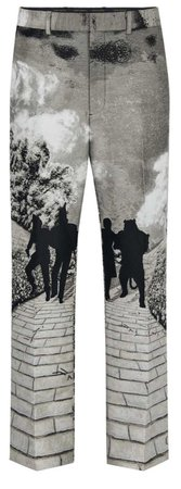 printed Louis Vuitton pants