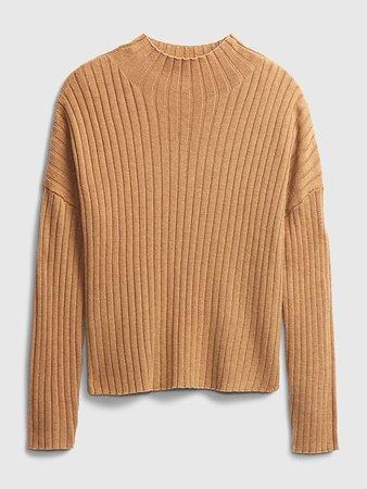 Merino Mockneck Sweater | Gap