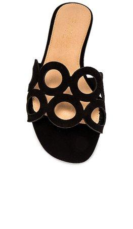 RAYE Loop Sandal in Black | REVOLVE