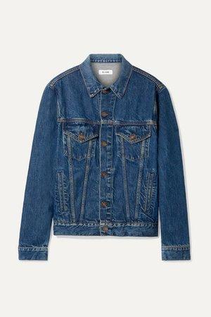 90s Denim Jacket - Mid denim