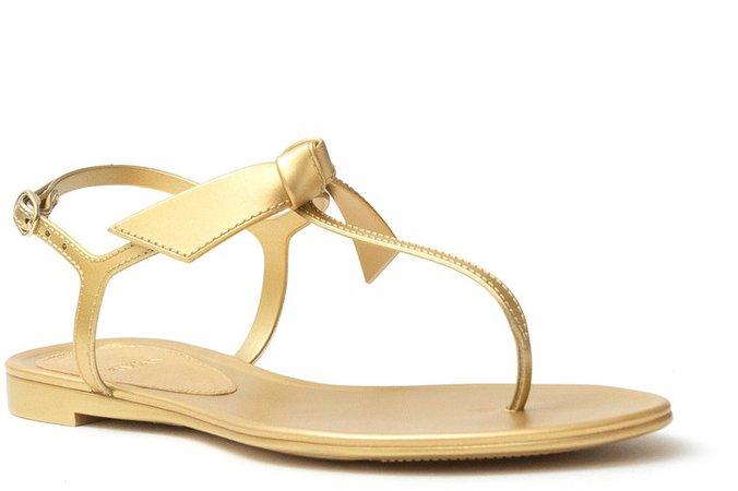 Clarita Metallic Jelly Sandal