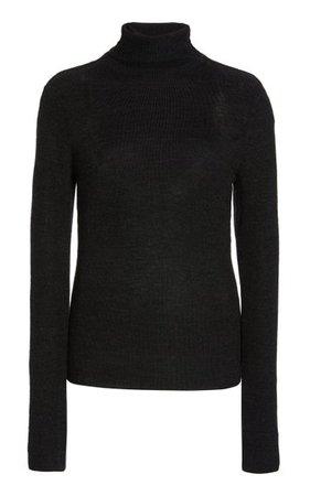 Wool Knit Turtleneck Sweater By Ganni | Moda Operandi