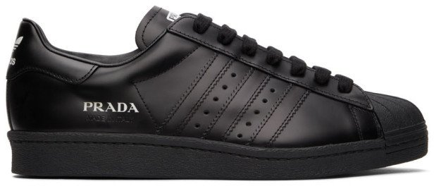 Black Prada Edition Superstar Sneakers