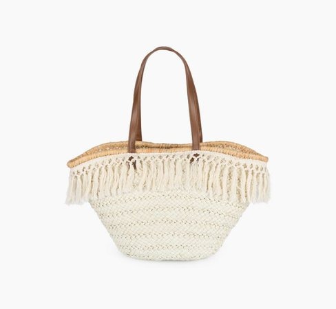 capazo playa  beach bag
