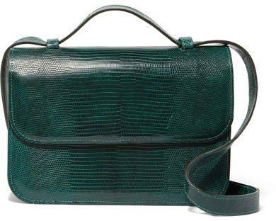Hunting Season - Large Lizard Shoulder Bag - Green