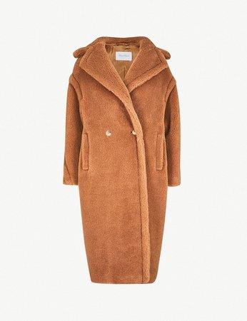 MAX MARA - Teddy camel-blend coat | Selfridges.com