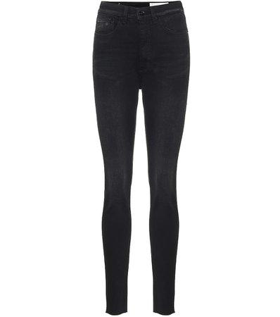Rag & Bone - Jean skinny Jane à taille haute | Mytheresa