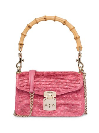 Miu Miu Bamboo Top Handle Bag - Farfetch