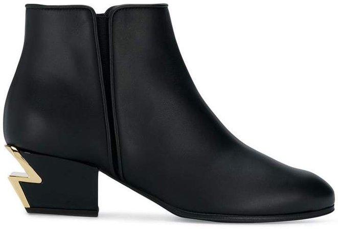 lightning heel boots