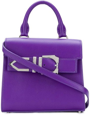 Iconic buckle tote bag