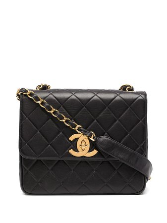 Chanel Pre-Owned 1995-1997 large diamond quilted flap crossbody bag - FARFETCH
