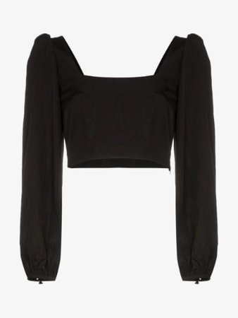Racil Square-neck cropped top | Browns