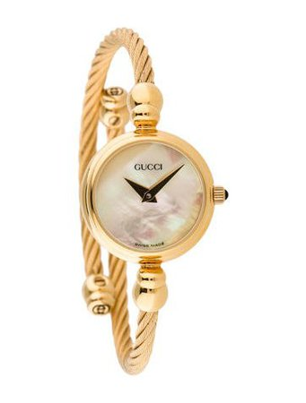Gucci 2700.2.L Coil Watch - Bracelet - GUC57212 | The RealReal