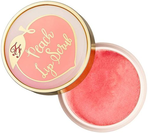 Peach Lip Scrub - Peaches and Cream Collection