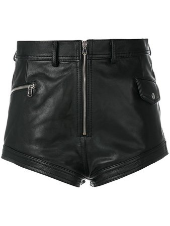 Diesel Black Gold High Waist Shorts - Farfetch