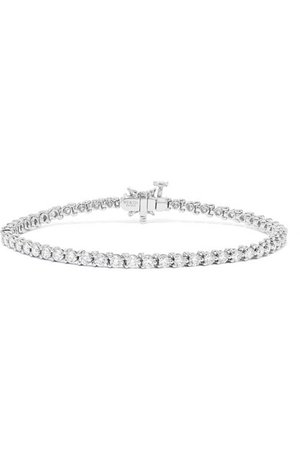 Tiffany & Co. | Victoria platinum diamond bracelet | NET-A-PORTER.COM