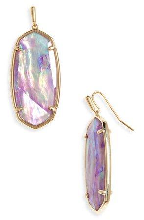 Kendra Scott Faceted Elle Drop Earrings | Nordstrom