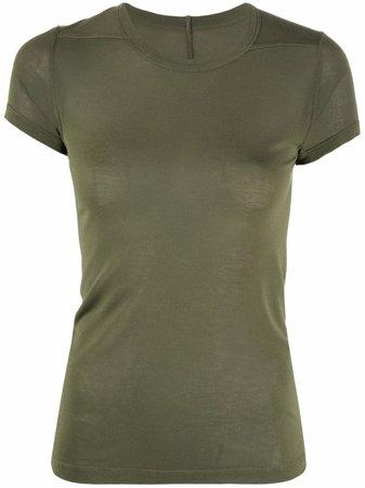 Rick Owens round neck short-sleeved T-shirt - FARFETCH