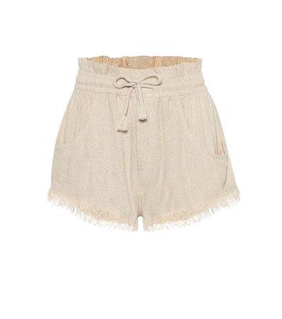 Talapiz Silk-Twill Shorts - Isabel Marant | Mytheresa
