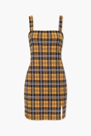 Plaid Bodycon Dress | Forever 21
