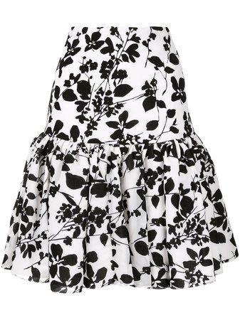 Bambah, Seville velvet mini skirt