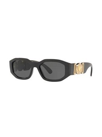 Versace Eyewear Hexad Signature Sunglasses - Farfetch