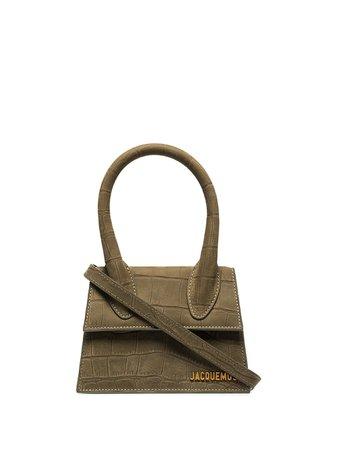 Green Jacquemus Le Chiquito bag for women -Farfetch