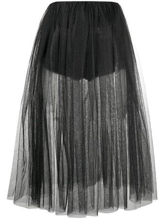 Alchemy mid-length tulle skirt - FARFETCH