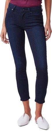 Verdugo Mid Rise Crop Skinny Jeans