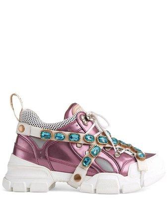 Zapatillas Flashtrek Gucci Disponibles En Tallas 35 - 40. Envío Express ✈ Devolución Gratuita ✓