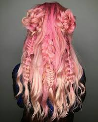 yellow and pink hair - Google Search