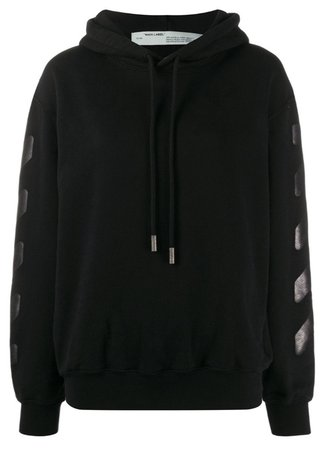 Off-White Black Oversized Hoodie