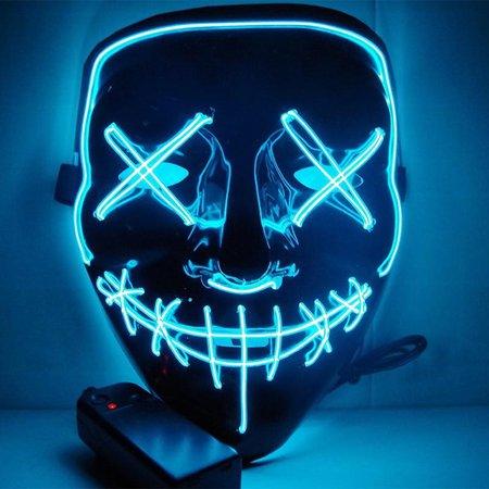 Glowing Purge Mask