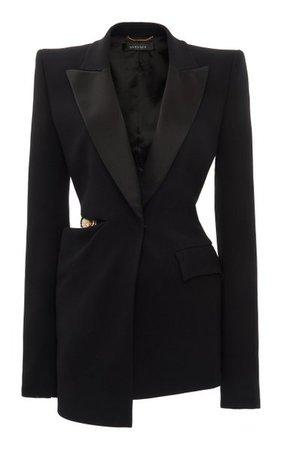 Cutout Crepe Blazer By Versace | Moda Operandi