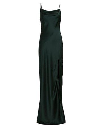 SABLYN Chase Silk Maxi Slip Dress   INTERMIX®