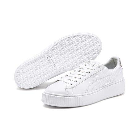 Basket Platform Opulent Damen Sneaker | Puma White | PUMA Shoes | PUMA Deutschland