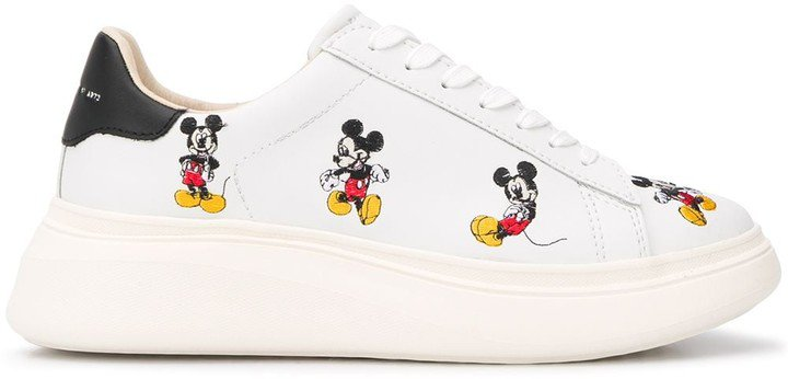 Moa Master Of Arts Mickey Mouse print sneakers