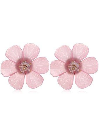 DressLily.com: Photo Gallery - Vintage Flower Acrylic Stud Earrings