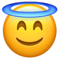 😇 Smiling Face With Halo Emoji