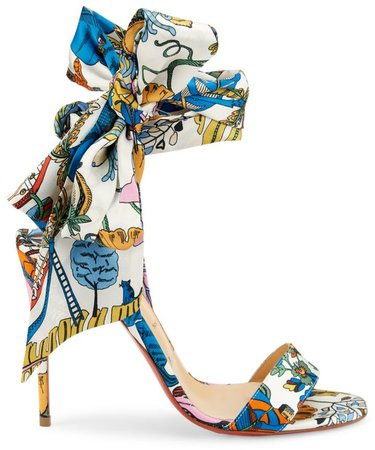 Sandale du Desert Silk Scarf Sandals