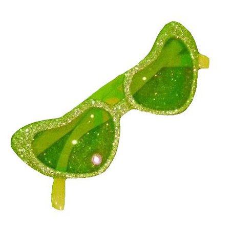 green sunglasses png