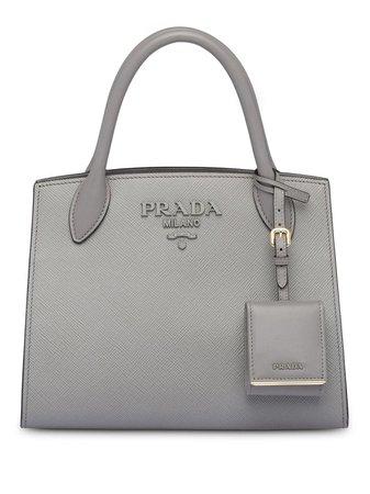 Prada Monochrome Saffiano Leather Bag - Farfetch